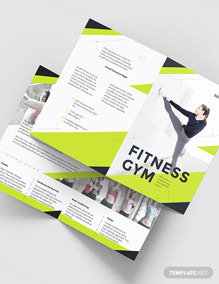 Fitness Gym BiFold Brochure Download
