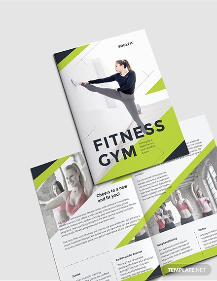 Sample Fitness Gym BiFold Brochure