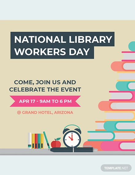 free national library workers day youtube profile photo template download 536 social media templates in psd templatenet