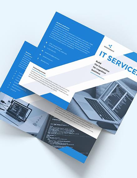 IT Business BiFold Brochure Download