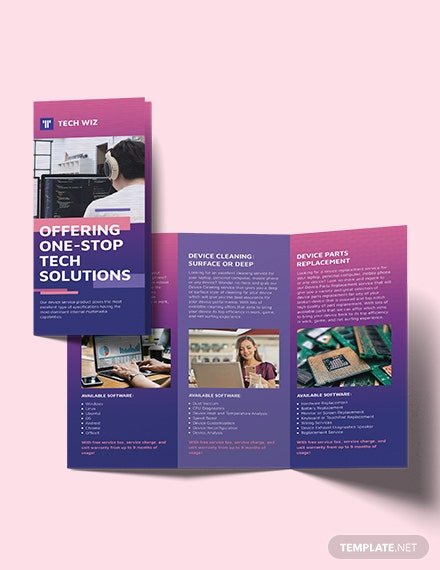Professional Services TriFold Brochure