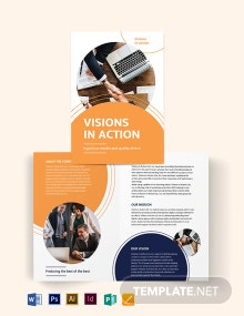 Proposal Bi-Fold Brochure Template