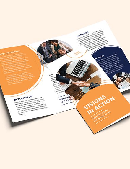 Sample Proposal TriFold Brochure