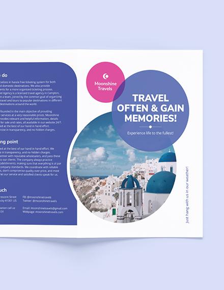 Sample Vacation BiFold Brochure