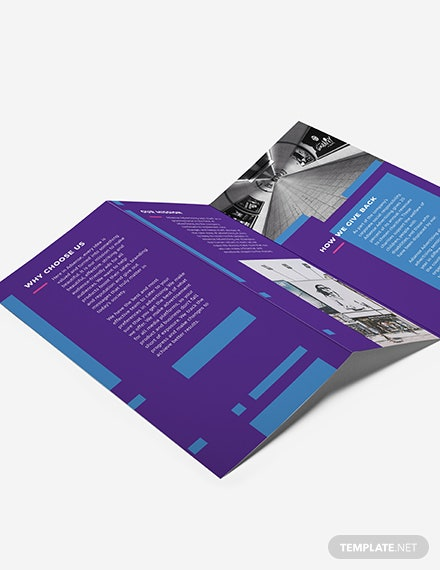 Advertising Company TriFold Brochure Download
