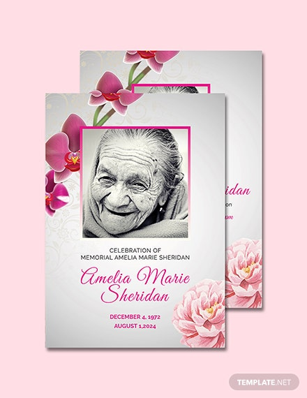 free funeral memorial card template download 128 cards in psd