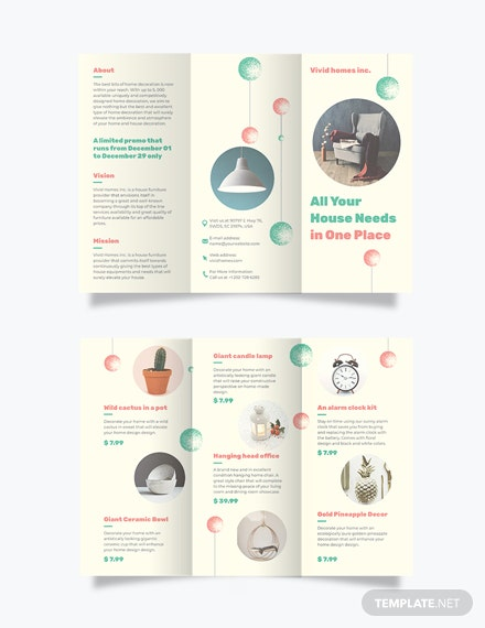 Christmas TriFold Brochure