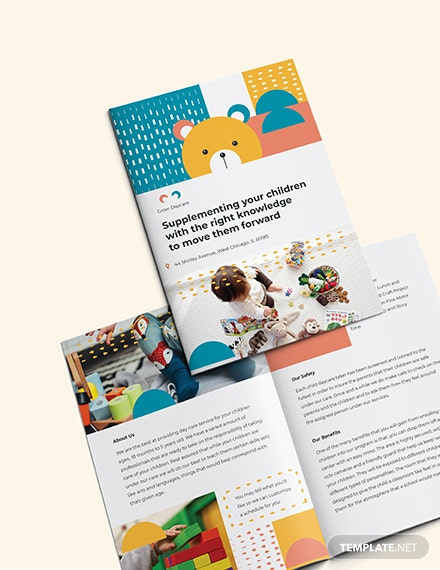 Sample Daycare Center BiFold Brochure