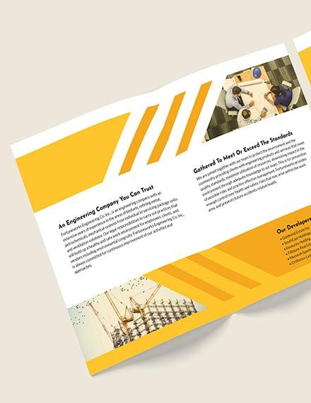 Engineering Company BiFold Brochure Download
