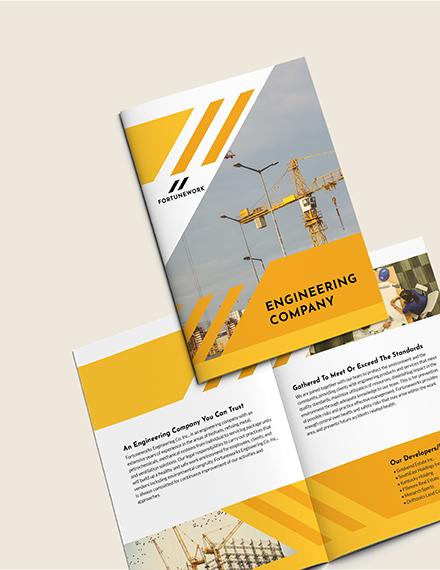 Sample Engineering Company BiFold Brochure