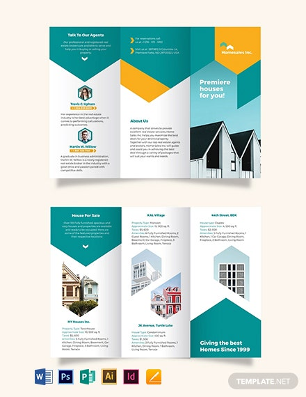House For Sale TriFold Brochure