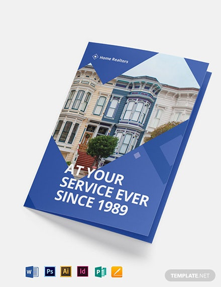 Realtor Bi-Fold Brochure Template