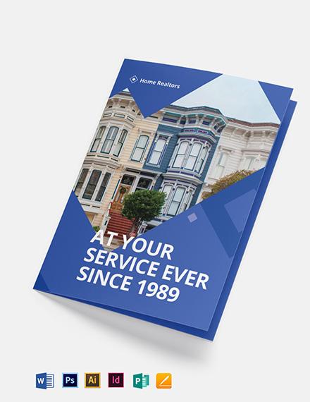 Realtor Bi-Fold Brochure Template