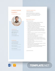 Adjudicating Officer Resume Template