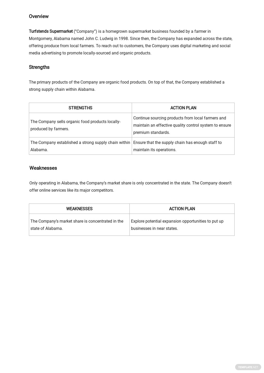 SWOT Analysis Template for Business Plan 1.jpe