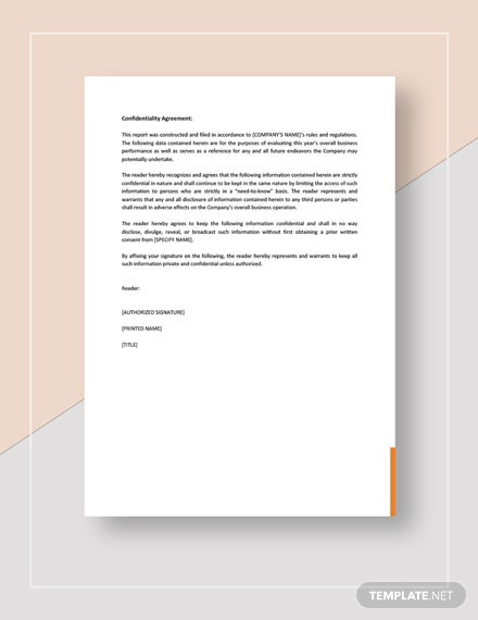 Business Report Sample Download
