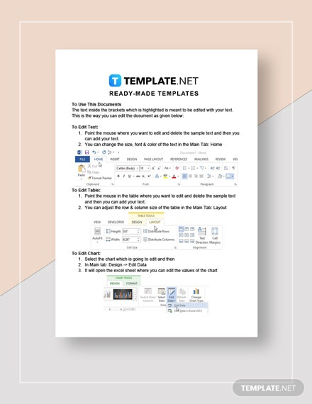 Business Report Sample Instructions