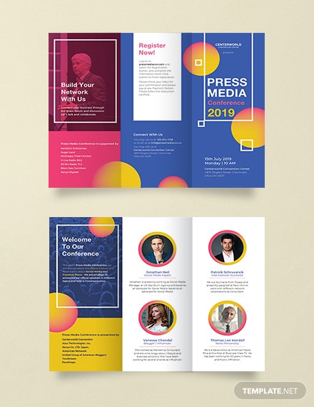 Conference Brochure Template | Conference Brochure Template Download 151 Brochures In Psd