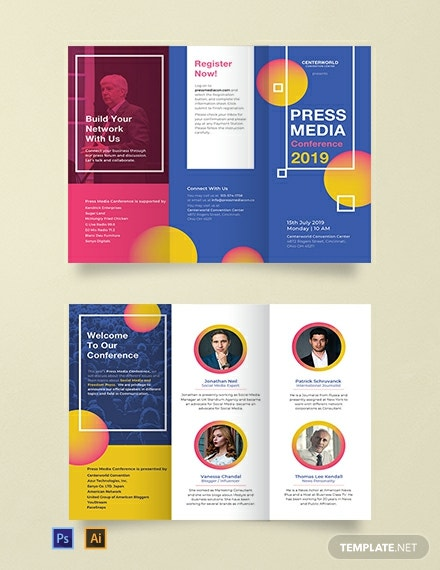 10 Free Conference Templates Word Excel Psd Google