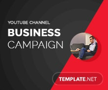 Free Corporate YouTube Channel Template