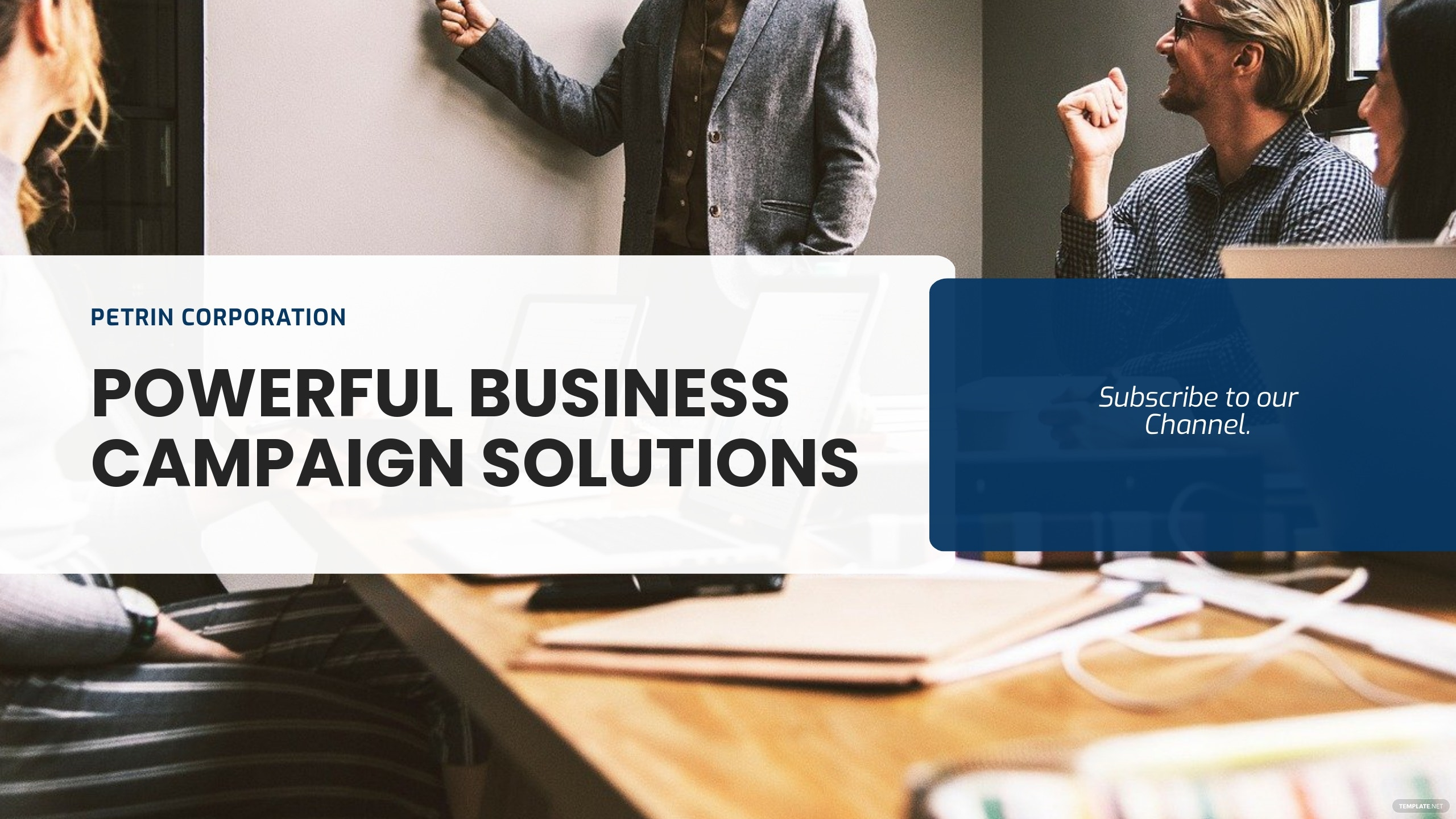 Free YouTube Channel Business Campaign Template