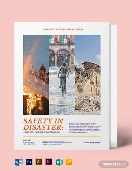 Safety Flyer Template