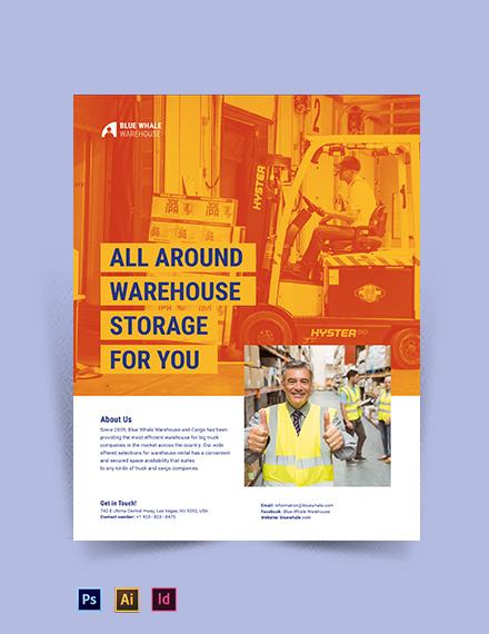 Warehousing Flyer Template
