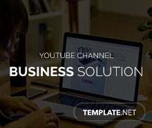 Free Business Solution YouTube Channel Template