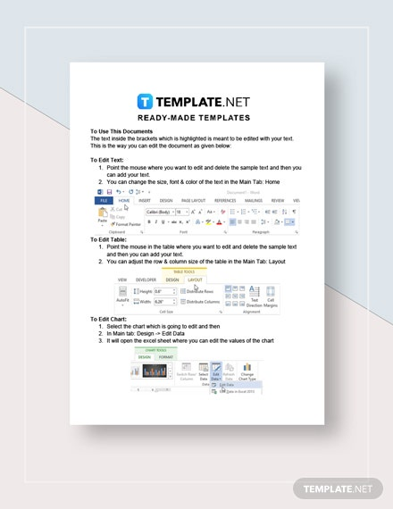 Credit Card Billing Authorization Form Instructions