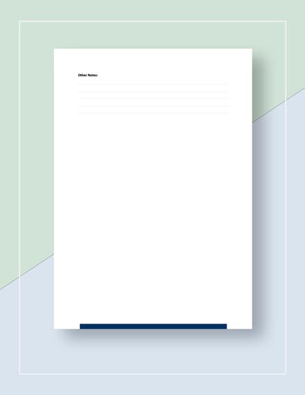 Checklist Sample Download