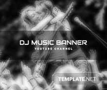 Free DJ Music YouTube Channel Template