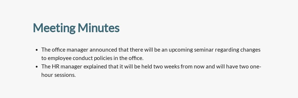 Sample Staff Meeting Minutes Template 3.jpe