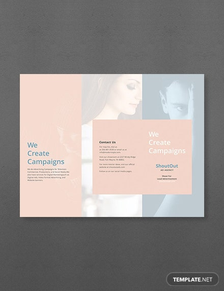 free blank brochure template download 151 brochures in psd