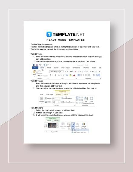 Partnership Termination Letter Instructions