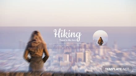 Travel Youtube Channel Template 440x247