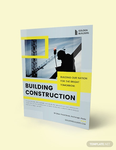 Building Construction Flyer Download