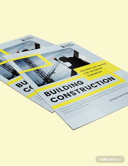 Sample Building Construction Flyer