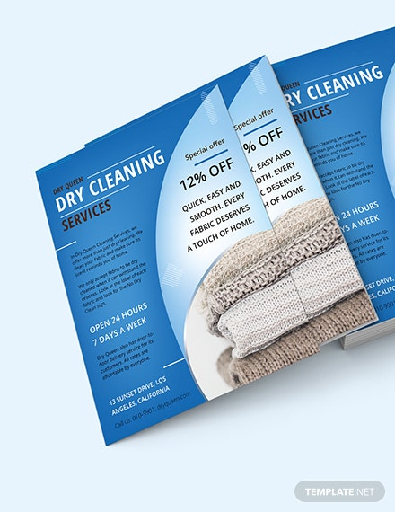 Dry Cleaning Flyer Download
