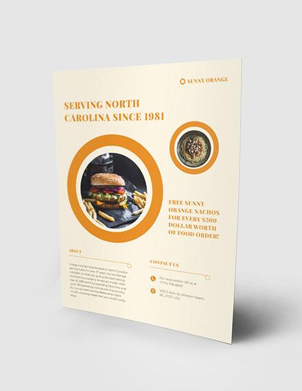 Fast Food Flyer Download