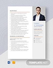 Assistant Art Director Resume Template