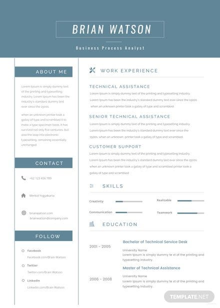 free senior manager resume template