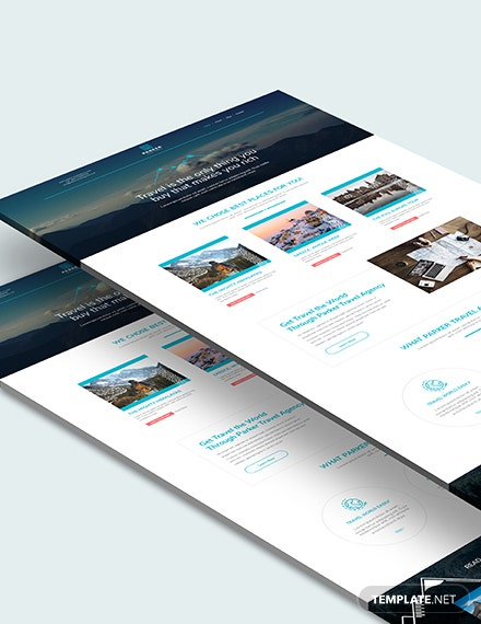 Sample Travel Agency Website