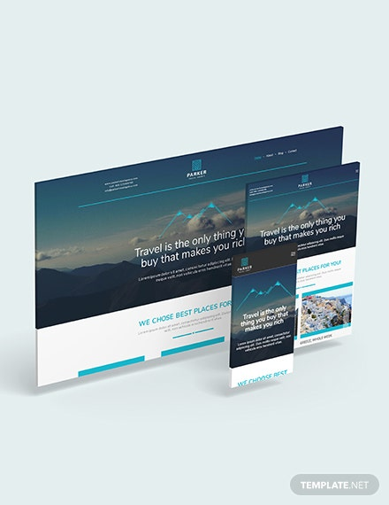 Travel Agency Website Download