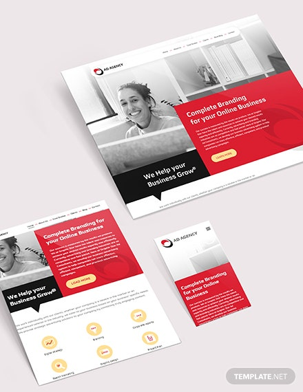 Sample Advertising Consultant Website