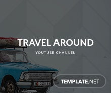 Free Traveling YouTube Channel Template
