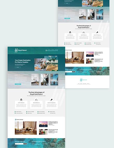 Resort Website Download