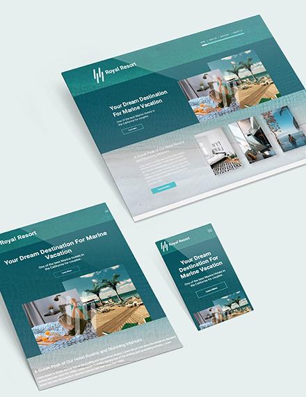Sample Resort Website