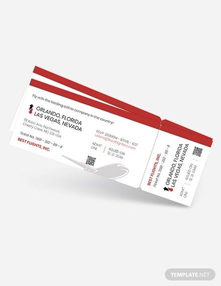 Boarding pass Ticket Invitation Download