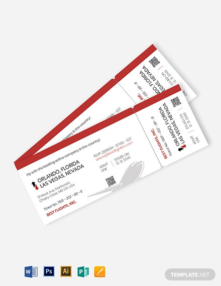 boarding pass ticket invitation template
