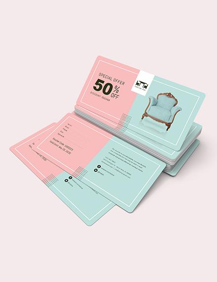 Sample  Discount Voucher